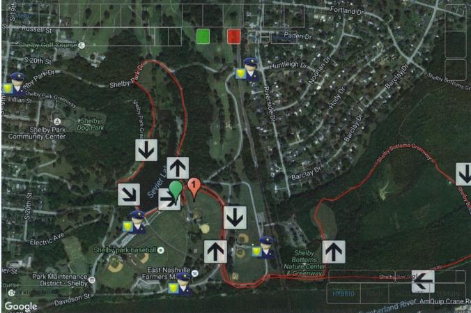 Nashville Shelby Park 5K Events Field 001